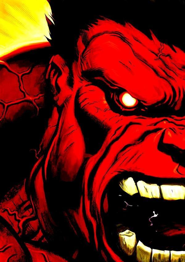 Red hulk marveluniverse pinterest - Pictures of red hulk ...