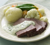 Corned Silverside With Parsley Sauce A Lovely Hearty Dish With Tasty Cold Corned Beef Cuts To