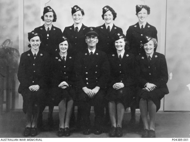 The first group of eight conductresses was employed by the Melbourne &…