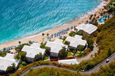 Havana blue and old stone farmhouse- Top Restaurants in St. Thomas, U.S. Virgin Islands