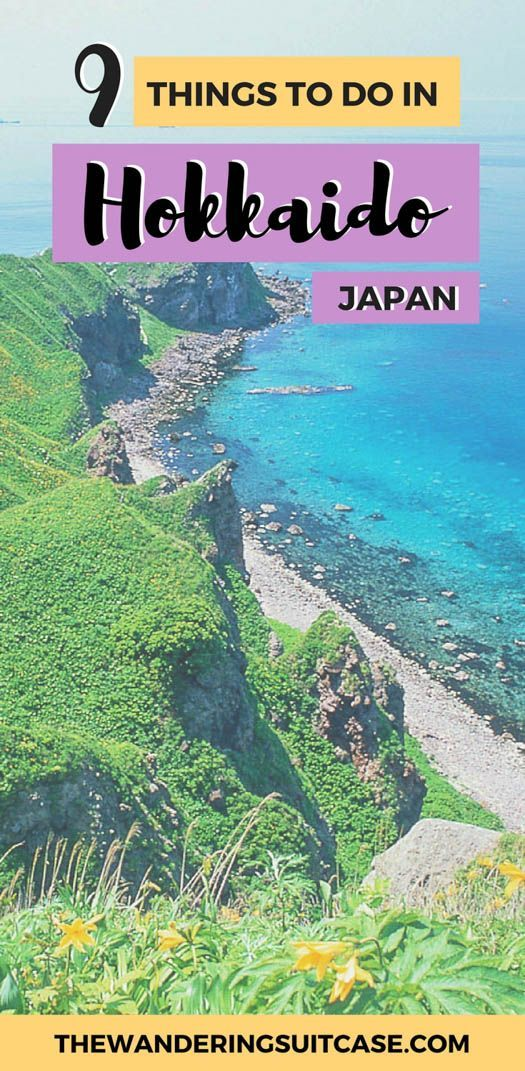 Guide to things to do in Hokkaido, Japan | Sapporo | Furano | Biei | Shakotan Peninsula | Hakodate | Northern Japan | East Asia | #japan #hokkaido #japantravel via @wanderingsuitca