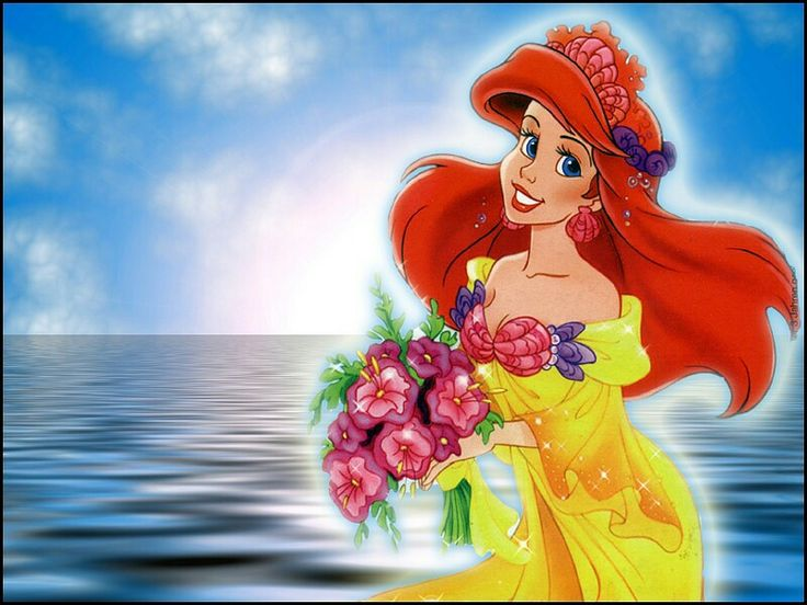 The Little Mermaid Wallpaper Ariel