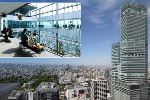 O edifício mais alto do Japão comemora a marca de 5 milhões de visitantes Na plataforma de observação é possível ver até Quioto e Kobe, excelente para fotos panorâmicas. Vamos conhecer?