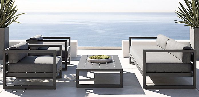 Aegean Slate (Outdoor Furniture CG) | RH http://www.uk-rattanfurniture.com/product/new-rattan-wicker-weave-garden-furniture-patio-conservatory-sofa-set-includes-garden-furniture-cover/