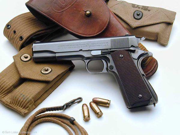Colt 1911 A1 .45 ACP. Winning!