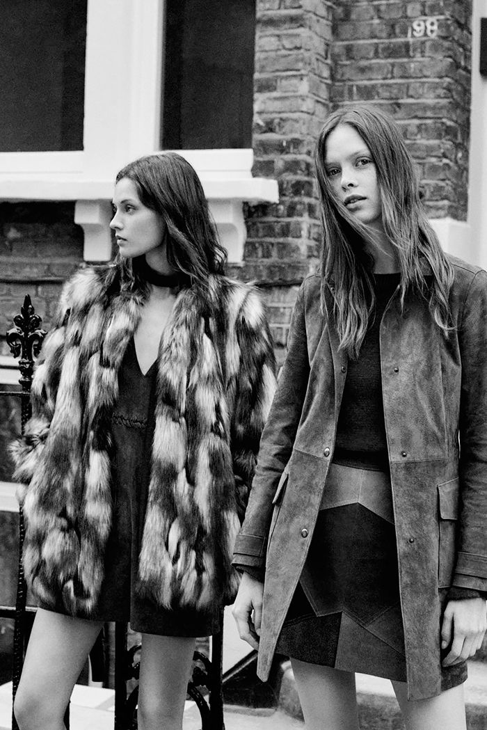 150+Gorgeous+Fashion+Images+to+Pin+Right+Now+via+@WhoWhatWear Love the coat on the right