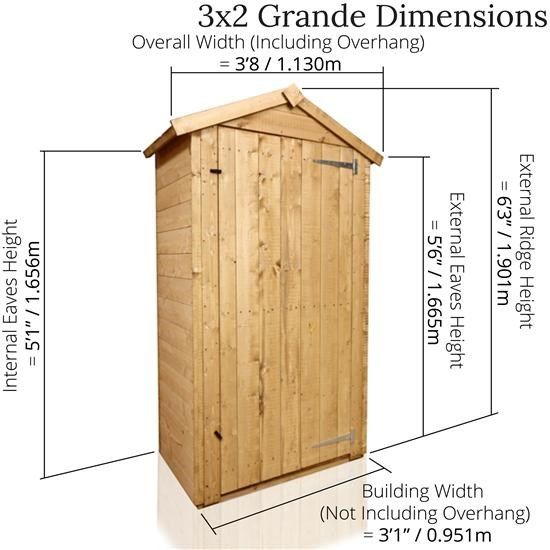 billyoh tongue and groove tall sentry box grande tongue groove sheds garden buildings