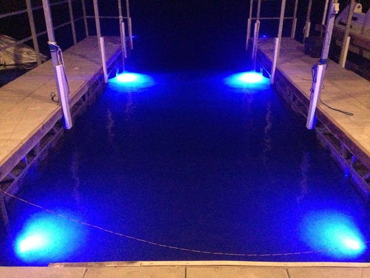 Remote Dock Lighting - control dock lights with a key fob!