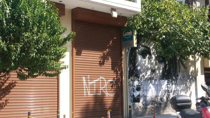 Urban city graffiti