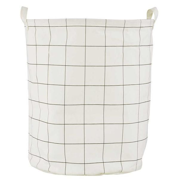 House Doctor Laundry bag - squares
