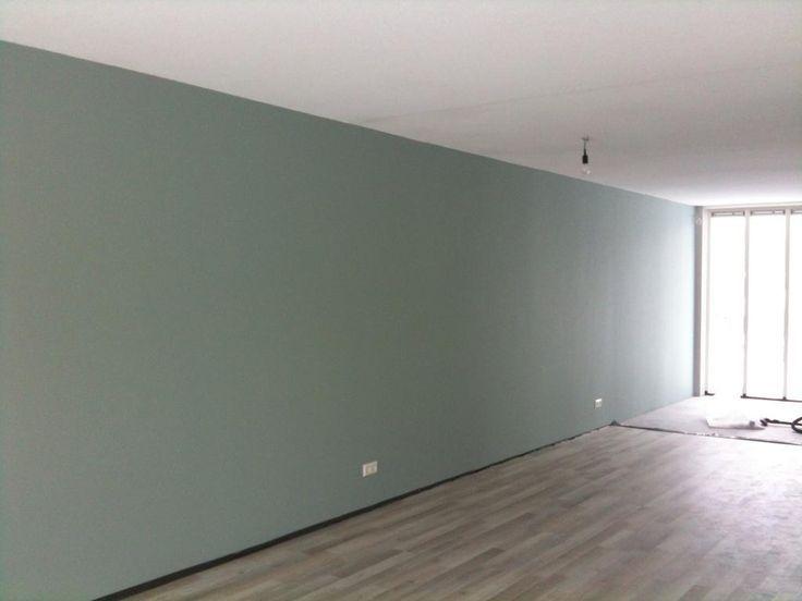 Meer dan 1000 idee n over grijs groen verven op pinterest groene verfkleuren valspar en - Welke kleur verf voor een kamer ...