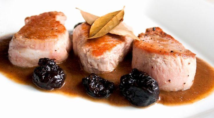 Receta: Solomillo de cerdo con salsa de ciruelas