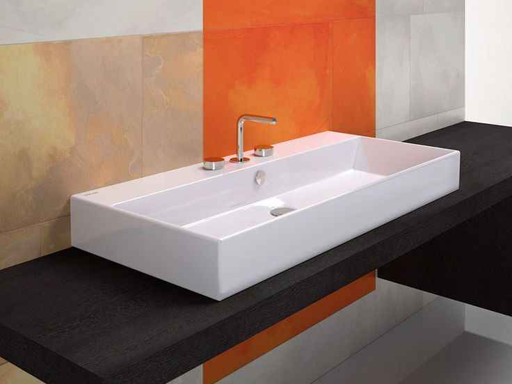 37 best Bad - Waschbecken - Aufsatzmodell images on Pinterest - küche waschbecken keramik