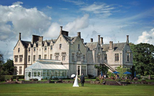 Luxury Scottish Wedding venues: The Roxburghe Hotel & Golf Course