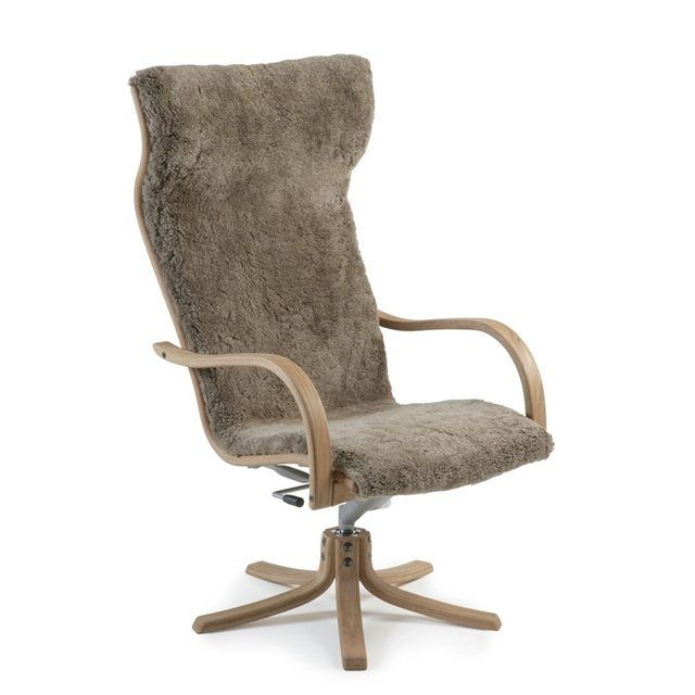 scandinavian design swivel armchair gazell by jan ekstr m conform