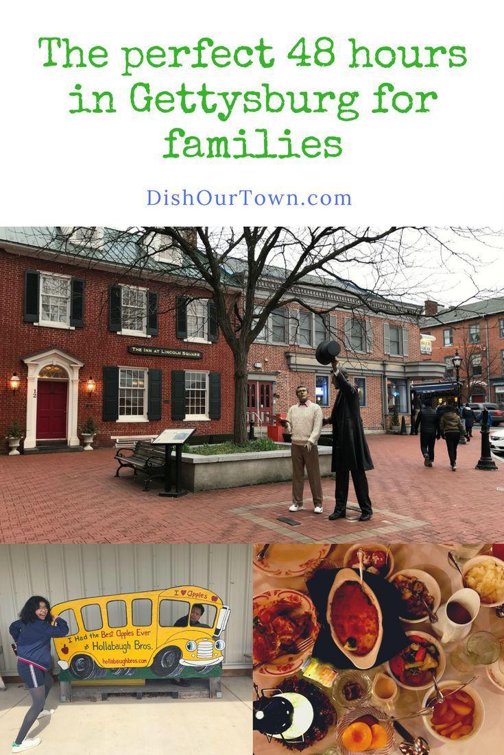 #Gettysburg, Pennsylvania: The Perfect 48 hour #FamilyTravel Destination via @DishOurTown #TBIN #myGettysburg