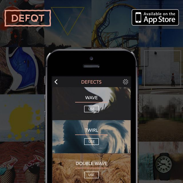 Please download our DEFQT iPhone app for unique photo filters! Thank you!