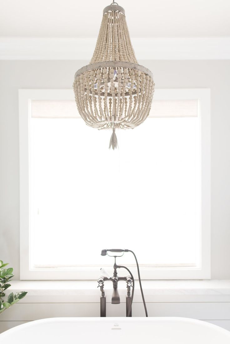 153 best lighting images on pinterest chandeliers beauty beaded chandelier over the tub pure salt arubaitofo Images