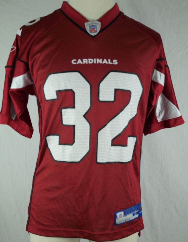 Edgerrin James - Arizona Cardinals Reebok On-Field Men's Small Jersey #Reebok #ArizonaCardinals