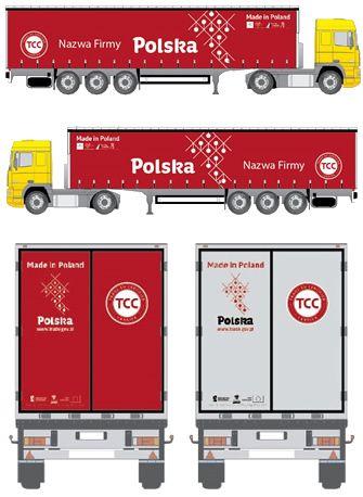 800 tirów z plandekami z logo Polska wyjedzie na drogi Europy www.trans.eu