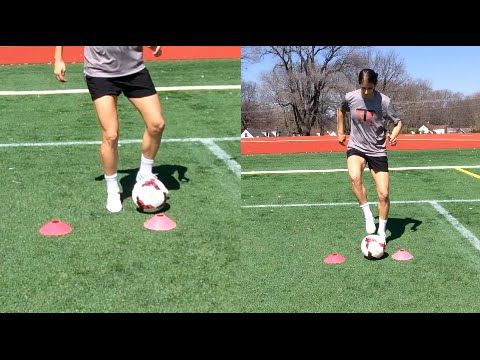 2 Cone Drill | Beast Mode Soccer | YFutbol - YouTube