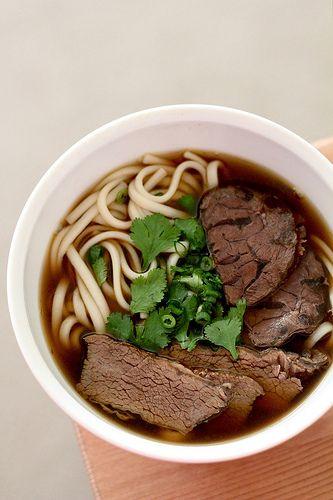 // Niu Rou Mian (Beef Noodle Soup)