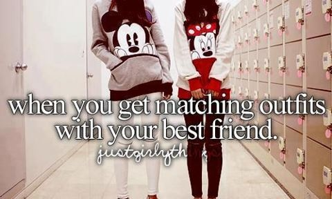 Your Laughter Dose: cute, love, matching outfits