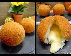 Boulettes de purée fourrées au fromage de ma mamie (facile, rapide) - Une recette CuisineAZ