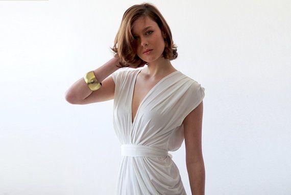 Stunning Ivory white dress by BLUSHFASHION on Etsy, $120.00