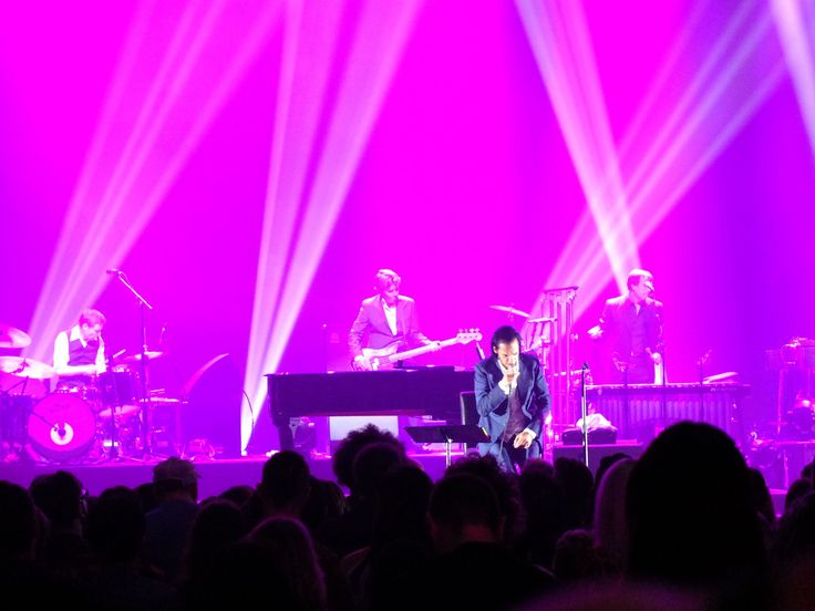 June 24, 2017 - The Greek Theater, Berkley (review: Nick Cave And The Bad Seeds Continue To Redefine Live Performance)