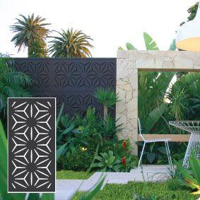 Outdeco® Gardenscreen™ Star Anais™The Block Shop - Channel 9
