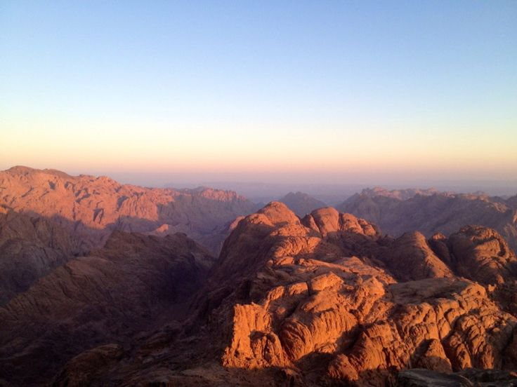 Also known as Mount Horeb, the traditional location is a peak in the central southern Sinai Peninsula.  This site and the surrounding area are steeped in Biblical tradition. http://gosmarttours.com.eg/en/travelerguide/tourist-attraction-sighseeing/red-sea-and-sinai/saint-catherine-mountain