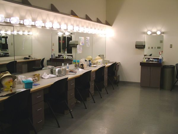 Dressing Rooms Department Of Theatre Amp Drama Interiors