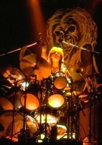 Former Iron Maiden Drummer Clive Burr has lost his battle with Multiple Sclerosis #music #Iron Maiden #RIP