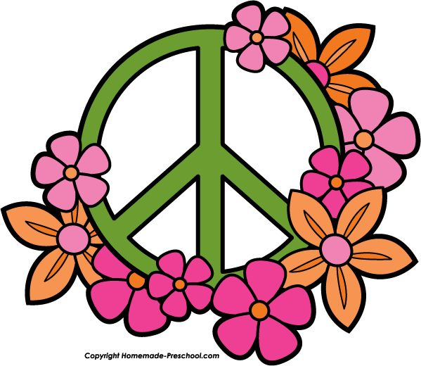 Peace Sign Colorful Icon - Free Icons