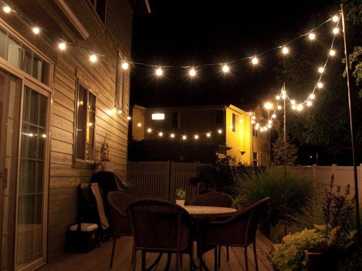 varal de luzes - cordão lâmpadas - iluminação casamentos