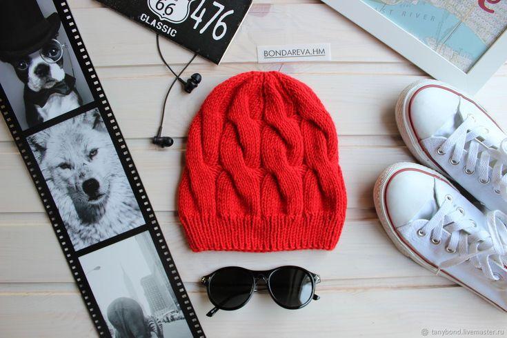 Купить Вязаная шапка в интернет магазине на Ярмарке Мастеров