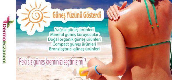Güneş Yüzünü Gösterdi :) Peki siz güneş kreminizi seçtiniz mi ? #plaj #güneş #cilt #sağlık #bakım #bioderma #Babe