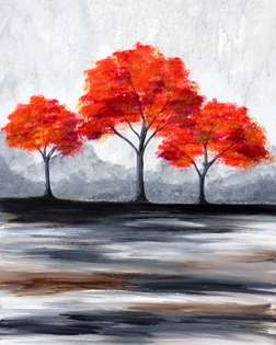 Join us at Pinot's Palette - Woodlands on Fri Mar 06, 2015 7:30-9:30PM for A Change In Seasons. Seats are limited, reserve yours today!