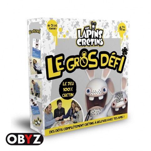 Jeu de plateau Lapins Crétins Le Gros Défi http://obyz-toys.com/fr/jeux-de-plateaux/24-jeu-de-plateau-lapins-cretins-le-gros-defi.html