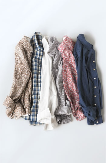 Button down boyfriend shirts
