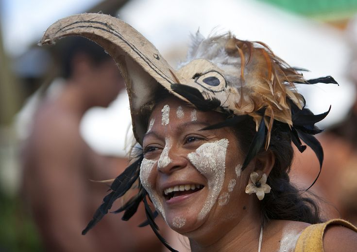 Carnival Parade During Tapati Festival, Easter Island, Chile | Flickr - Photo Sharing!