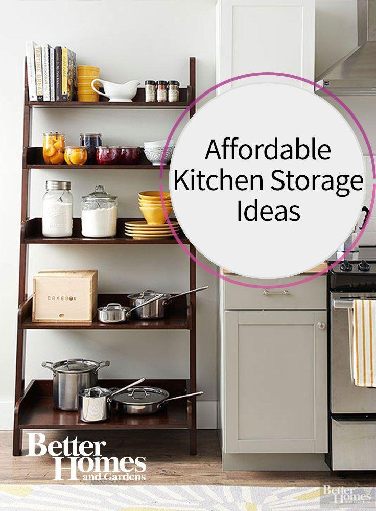 Best 25 kitchen storage units ideas on pinterest - Kitchen storage solutions small spaces ...