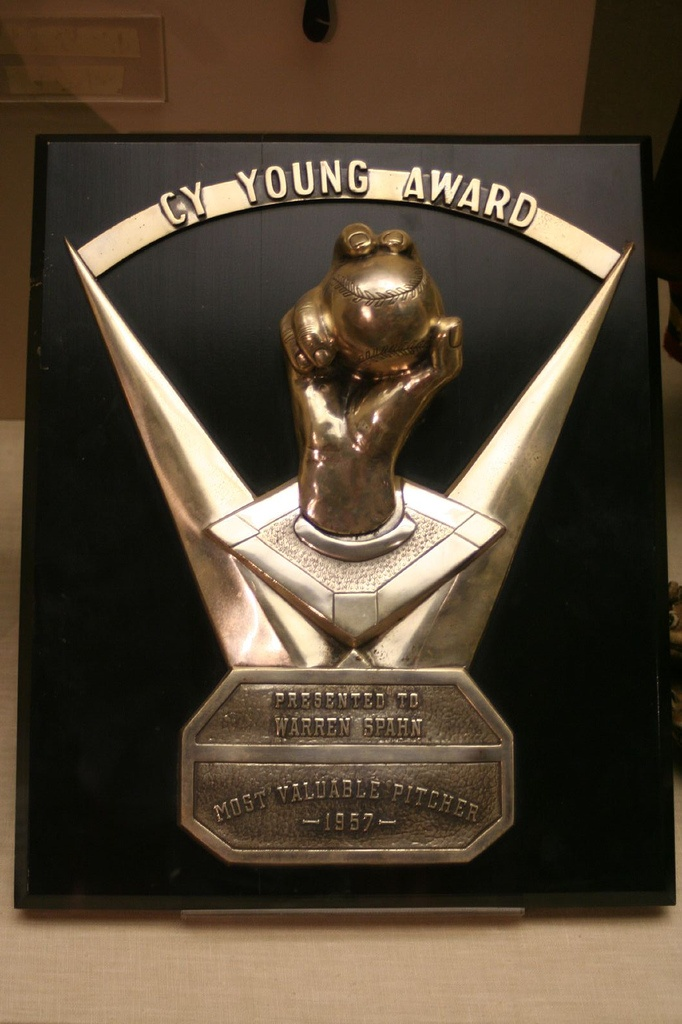 Warren Spahn's 1957 Cy Young Award