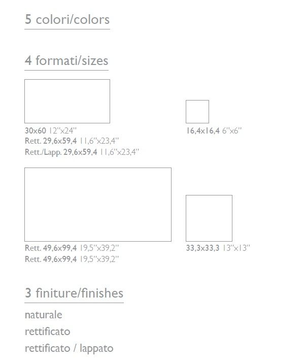 Travertino Elegant Spec Sheet