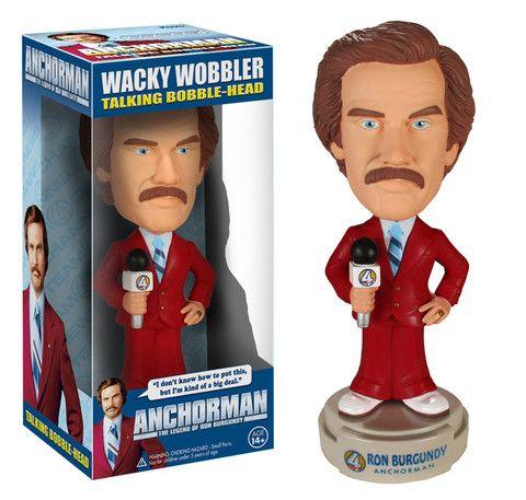 Wacky Wobbler: Anchorman - Ron Burgundy | Funko