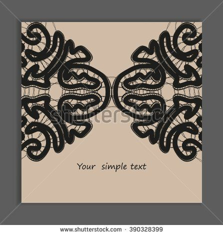 Black bobbin lace vector texture background for all. Eps10. #lace #bobbin #vector #shutterstok  #illustration #wedding  #retro #vintage