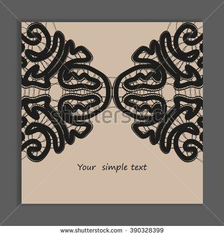 Black bobbin lace vector texture background for all. Eps10. #lace #bobbin #vector #shutterstok  #illustration #wedding  #retro #vintage
