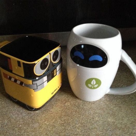 17 best images about wall e and eve on pinterest disney pixar movies and fanart - Walle and eve mugs ...