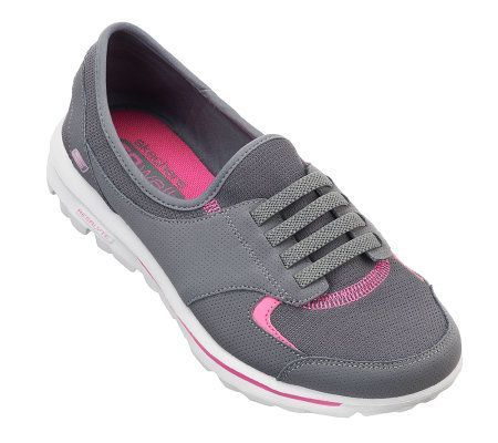 Sketchers Go Walk on QVC - love wearing these shoes